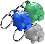 Eco Piggy Banker Key Tags